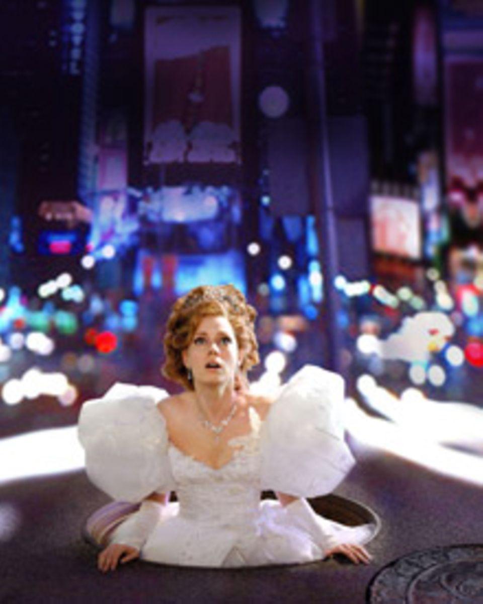 Für eine Märchenprinzessin muss New York ganz schön erschreckend sein