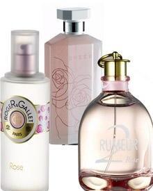 """""""Rose"""" von Roger & Gallet lockt mit orientalischen Einflüssen (100 ml EdP, ca. 37 Euro); """"Sheer Stella"""" von Stella McCartney, se"""
