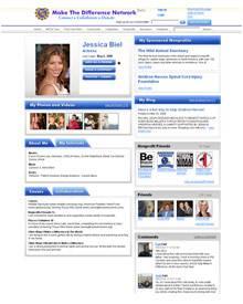 """Nein, nicht """"Studi-Vz"""": Dies ist Jessica Biels Profil bei """"mtdn.com"""""""