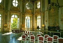 Genau das Richtige für die Märchenhochzeit: Der berühmte Marmorsaal im Schloss Mirabell