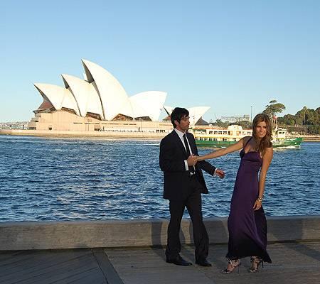 """Germany?s Next Topmodel""- Kandidatin  Raquel beim Shooting in Sydney"