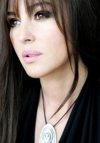 Star-Make-up in Cannes 2008: Monica Beluccis Schönheit wurde vom Dior-Team mit zarten Farben unterstrichen