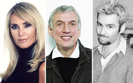 Die GALA-Expertenjury: von Minckwitz, Linow, Nikolaou (von links)