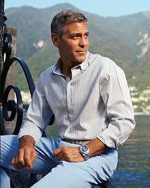 George in seiner Wahlheimat am Lago di Como