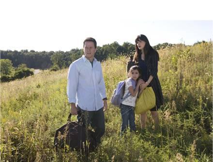 Elliot (Mark Wahlberg) und seine Frau Alma (Zooey Deschanel) versuchen zu fliehen