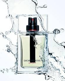 """Pure, männliche Energie: """"Dior Hommes Sport"""" erfrischt mit lebhafter Zitrone, energiegeladenem Ingwer und edlem Zedernholz (50 m"""