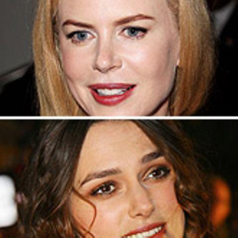 Nicole Kidman und Keira Knightley