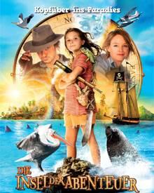 """Das Filmplakat der """"Insel der Abenteuer"""""""