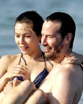 Keanu Reeves und China Chow
