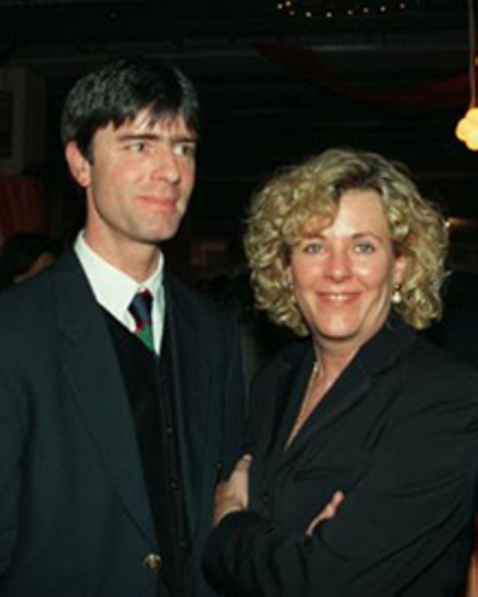 Rare Momentaufnahme: 1996 entstand dieses gemeinsame Foto von Joachim Löw mit seiner Frau Daniela