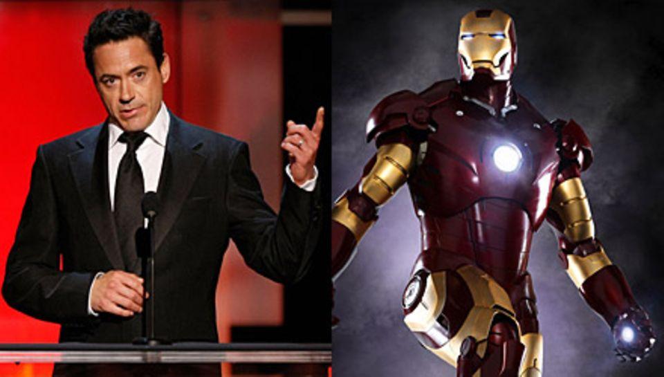 """Die Comic-Verfilmung von """"Iron Man"""" mit Robert Downey Jr. bricht alle Kassenrekorde, nur """"Spider-Man"""" war noch erfolgreicher"""