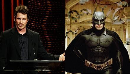 """Wenn einer """"Iron Man"""" überflügeln kann, dann """"Batman""""! Christian Bale schlüpft erneut ins Fledermaus-Kostüm"""