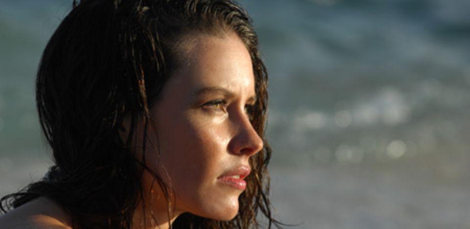 Wasser ist ihr Element: Evangeline Lilly lebt auf Hawaii - der Strand ist ihre Wohlfühloase