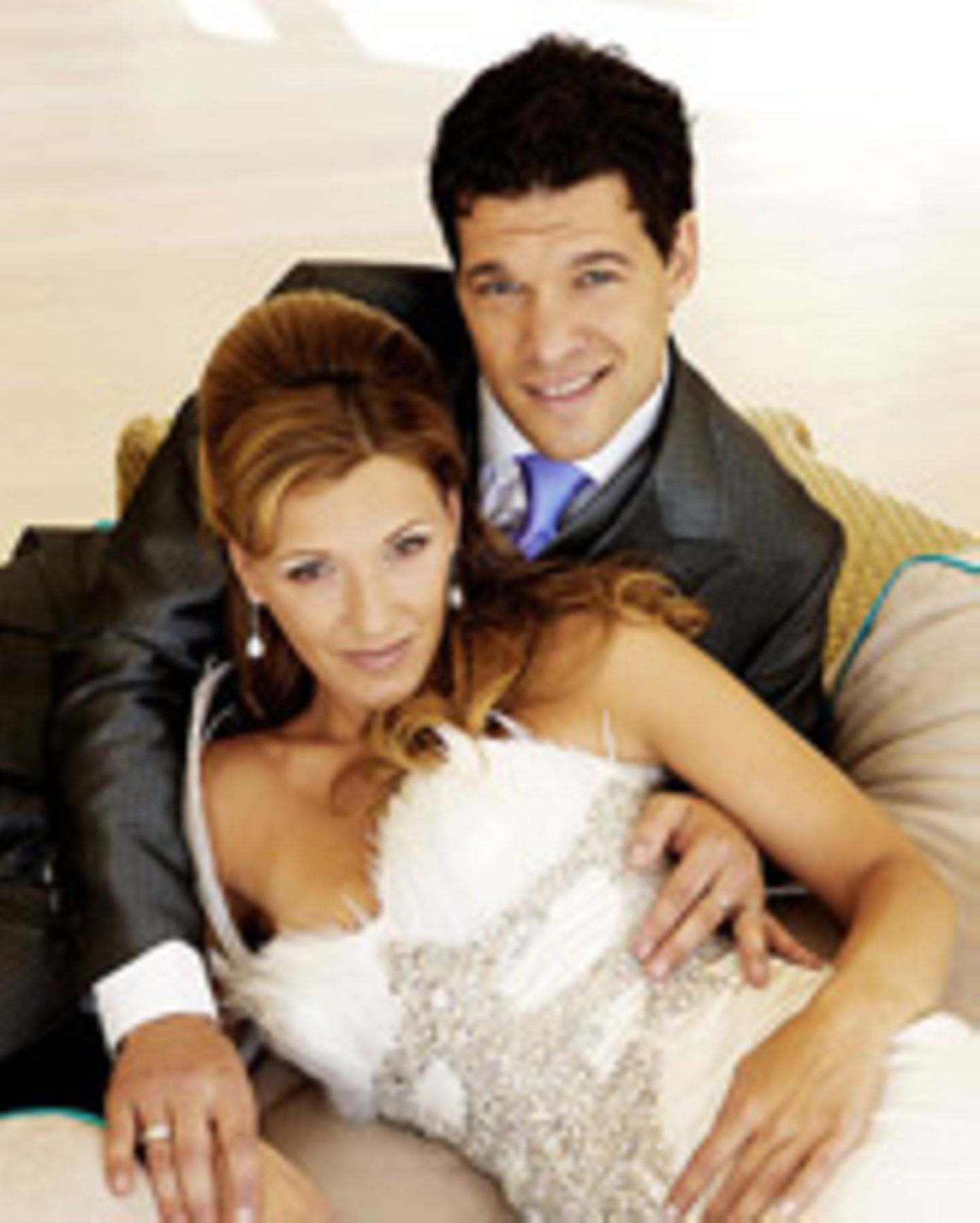 Ballack Hochzeitsbild
