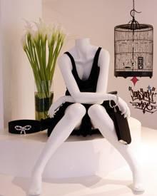 Individuelles Design: Im Modehaus Maendler wird die 6267-Kollektion kunstvoll in Szene gesetzt