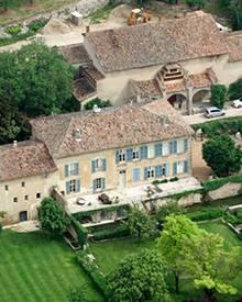 Auf Château Miraval gibt es jede Menge Platz zum Spielen