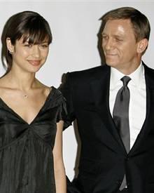 """Olga Kurylenko und Daniel Craig beim Fototermin von """"Ein Quantum Trost"""""""