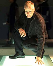 Architektonisches Schuhkonzept: Designer Christian Werner