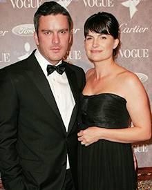 Da war die Welt noch in Ordnung: Balthazar Getty und seine Frau Rosetta Millington im Januar 2008