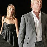 Boris Becker udn Sandy Meyer-Wölden