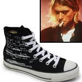 Kurt Cobain Chucks