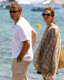 Heute St. Tropez, morgen St. Barth: Unternehmer Roman Abramowitsch und Ex-Model Daria Schukowa