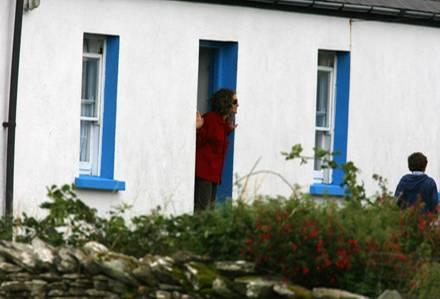 Sarah Jessica Parker in ihrem Irland-Urlaub. Das Anwesen gehört der Familie von Ehemann Matthew.