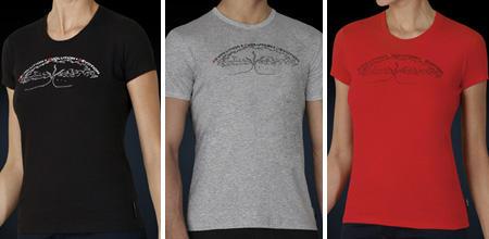 Die Charity-Shirts im Julia-Roberts-Design werden auf Wunsch der Schauspielerin in Afrika produziert