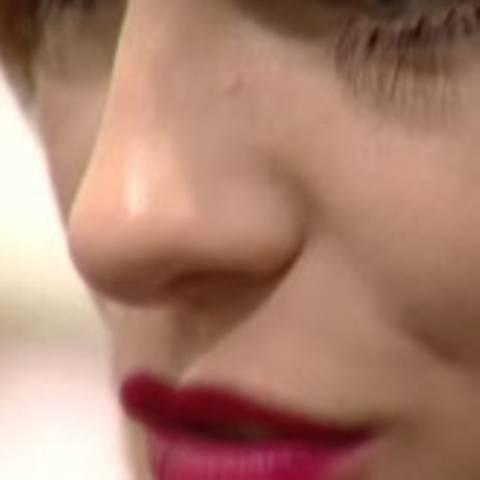 Make-up-Trend bei der Show von Mariella Burani