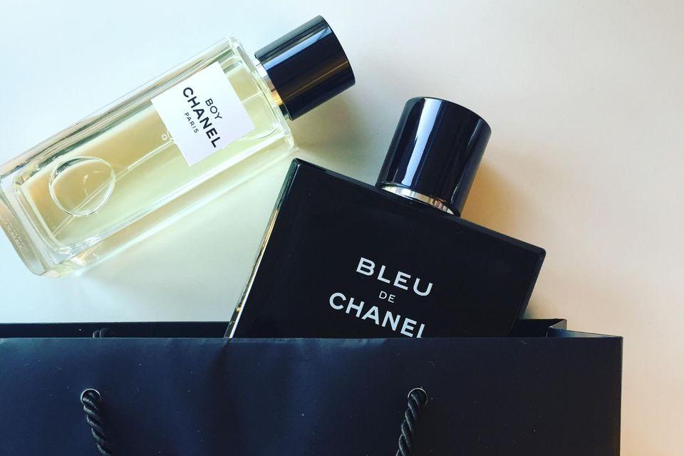"""Boy"" + ""Bleu de Chanel"""