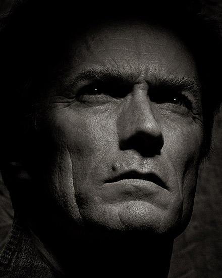Der Blick, der zu seinem Markenzeichen wurde: Clint Eastwood