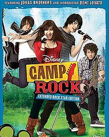 "Filmplakat zu Disneys ""Camp Rock"""