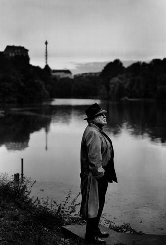 Mario Adorf - Aus der Ausstellung Jim Rakete: 1/8 sec. im Deutschen Filmmuseum, Frankfurt am Main