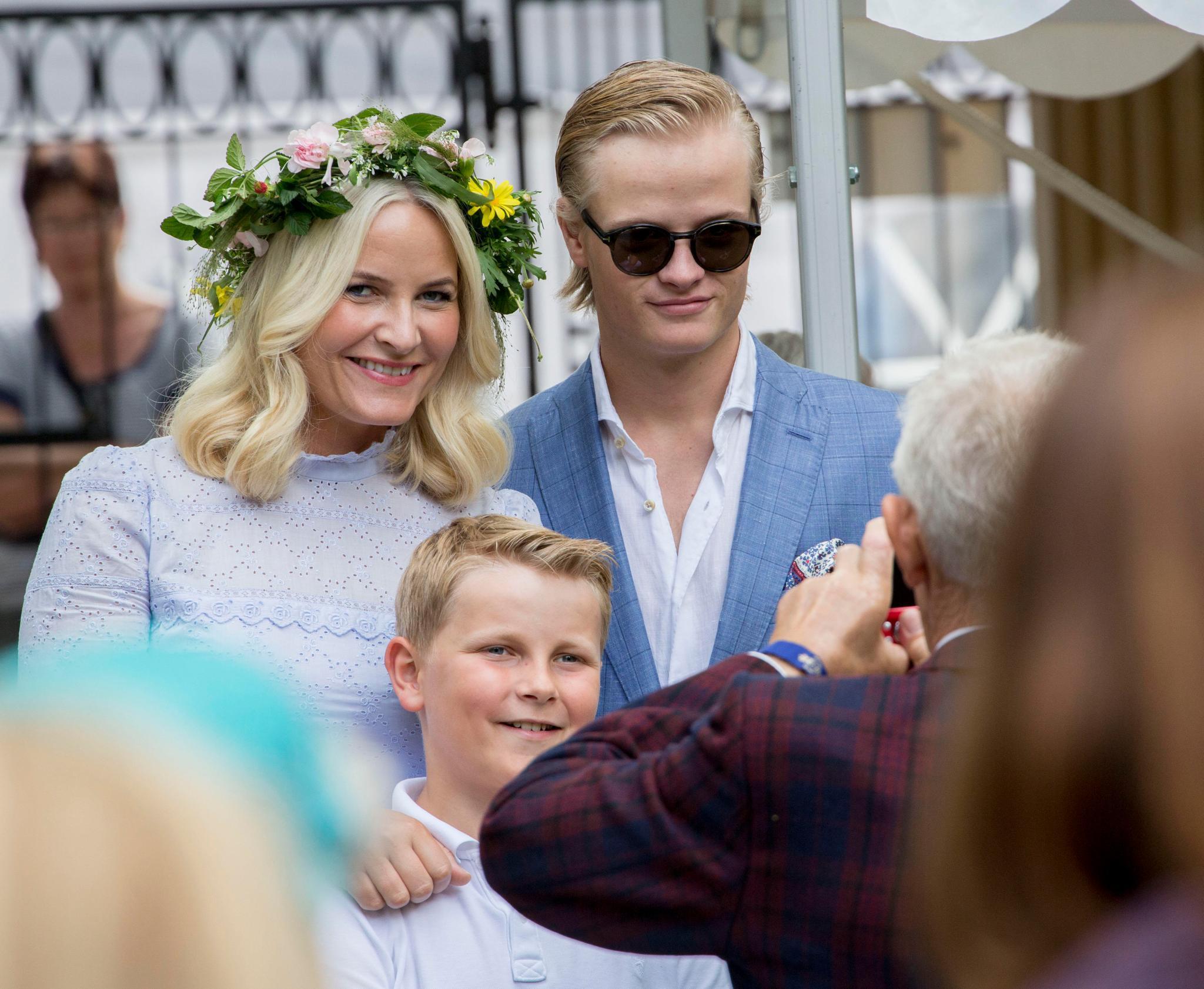 Prinzessin Mette-Marit, Marius Borg Høiby