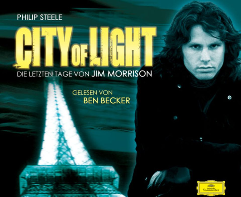 """Das Cover des Hörbuchs """"City of Light"""", gelesen von Ben Becker"""