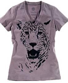 Das schöne Charity-Shirt in grau