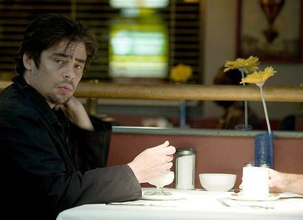 """Benicio del Toro in """"Things we lost in the fire"""""""