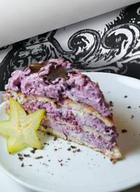Waldbeer Mascarpone Kuchen