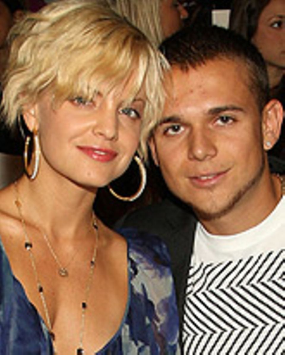 Mena Suvari und Simone Sestito