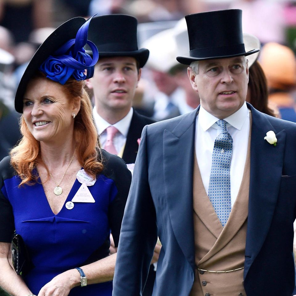 Sarah Ferguson + Prinz Andrew