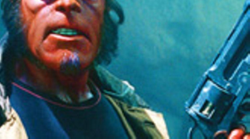 """Ron Perlman als """"Hellboy"""""""
