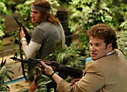 Auf der Flucht: James Franco als Saul und Seth Rogen als Dale