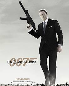 """Daniel Craigs zweiter Auftrag im Auftrag ihrer Majestät: """"James Bond - Ein Quantum Trost"""""""