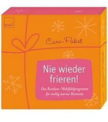 """Care-Paket: """"Nie wieder frieren"""" , Verlag: Knaur, München"""
