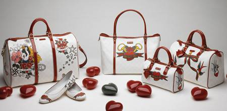 "Die ""White Tattoo Heart Collection"" von Gucci"