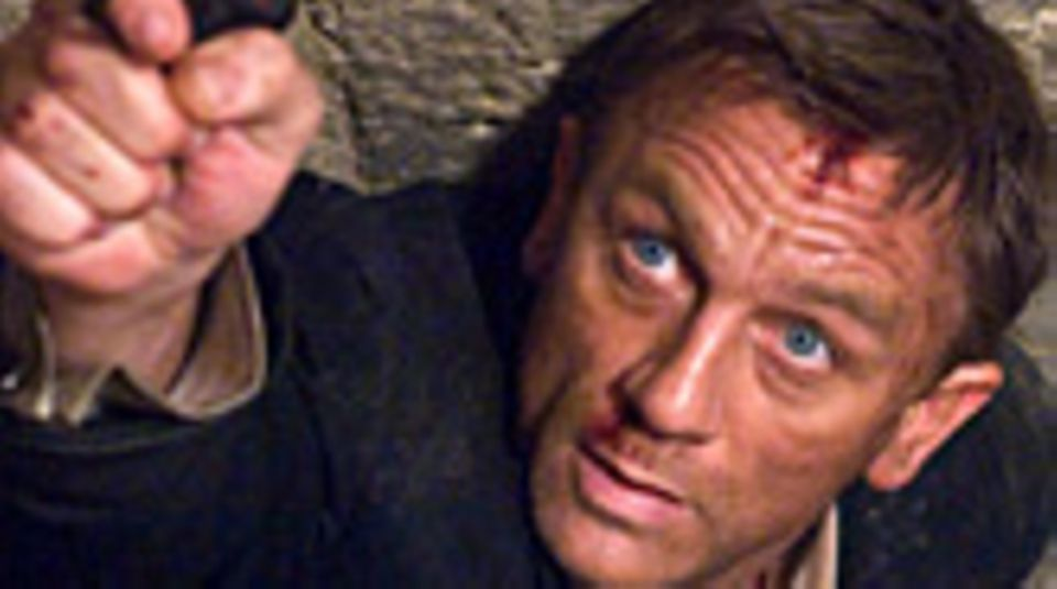"""Daniel Craig in """"007 - Ein Quantum Trost"""""""