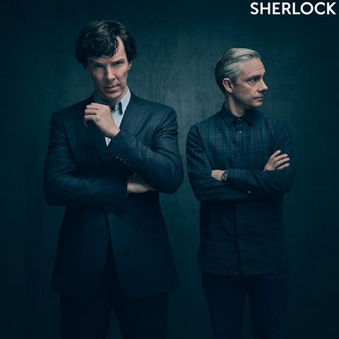 Sherlock Holmes (Benedict Cumberbatch) und John Watson (Martin Freeman)