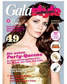 GALA style zeigt auf 162 Seiten Trends aus Fashion und Beauty und den Lifestyle der Stars