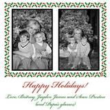 """Happy Holidays! Love Britney, Jayden James, and Sean Preston (and papa's glasses)"""