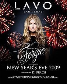 So wirbt Fergie für ihre Party in Las Vegas